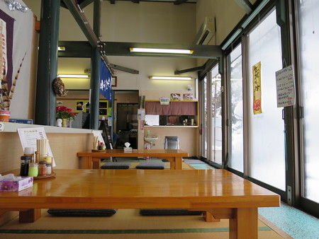 大島青空市場 食事処 店内の様子