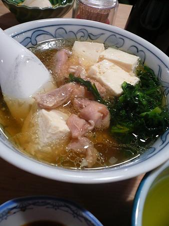 2010.06.24/銀座・三州屋「鶏豆腐」