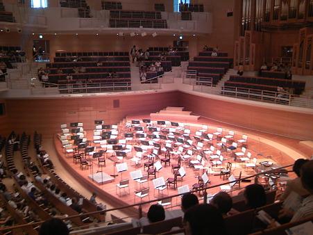 東京交響楽団第60回新潟定期セッティング
