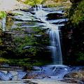 写真: 螃蟹落の滝