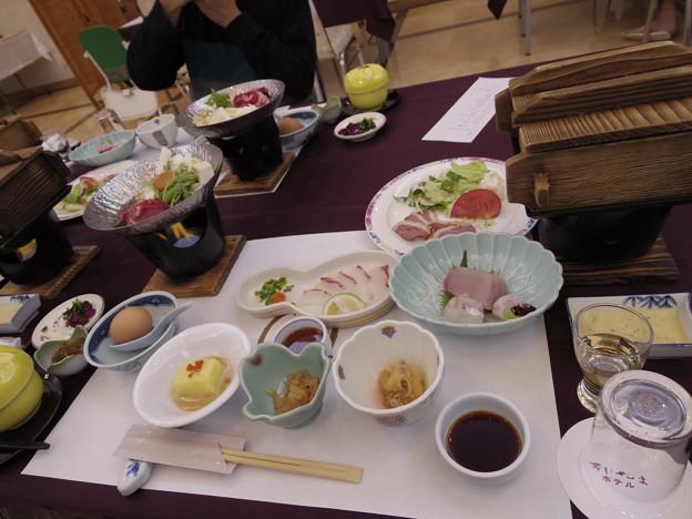 2014/12/06 別府温泉「おにやまホテル」の夕御飯!