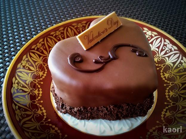 バレンタインチョコケーキ