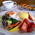 Photos: 小倉ねじりパンの朝食