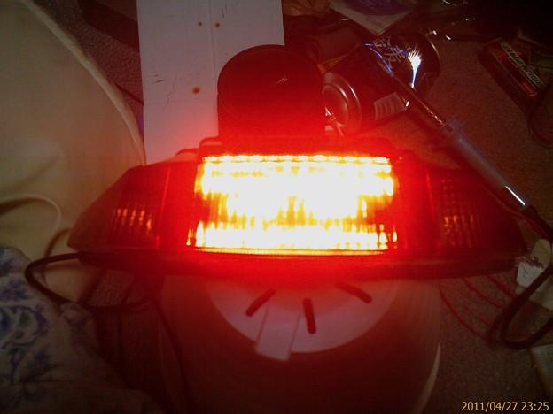 ブレーキ&スモール点灯テスト