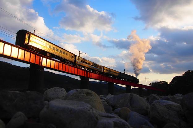 Photos: SL急行かわね路号 大井川第一橋梁