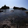 写真: 奇岩怪石の景勝