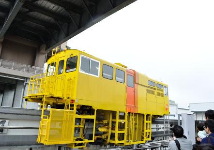 多摩モノレール 工作車