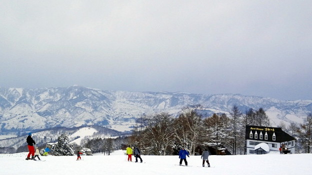 野沢温泉スキー場 パラダイスゲレンデ