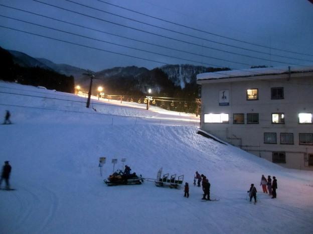 野沢温泉スキー場 長坂ゴンドラ乗り場