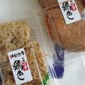 写真: 福岡・『博多いもっ子屋』さんの『鶏めし・辛子高菜いなり』♪鶏めし...