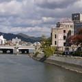 Photos: 川沿いの史跡