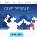 写真: Pebble Smartwatch