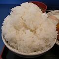 Photos: 定食や 大盛りライス
