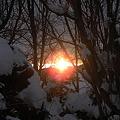 雪国の夜明け