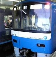 京急600形606F BLUESKYTRAIN 急行青砥行き