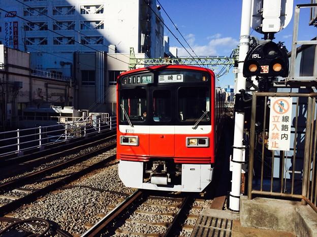 京急1500形1719F 1370SH快特三崎口行き