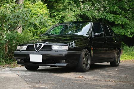 Alfa 155フロント@50/1.8G f1.8