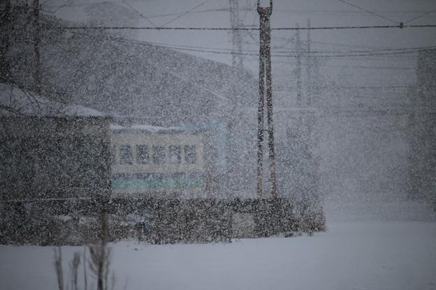 解体待ちの485系T編成@秋田総合車両センター