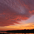 Photos: Afterglow over Middle Bay