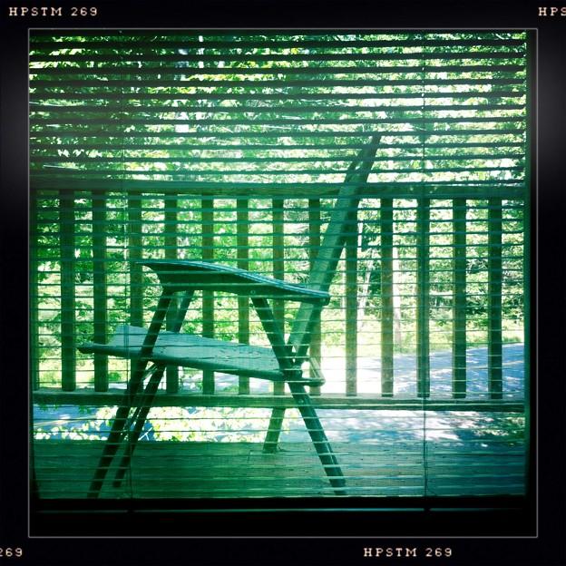 A Chair through the Shade