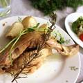 Photos: 鶏肉のコンフィ