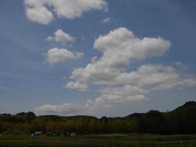 雲、雲、雲
