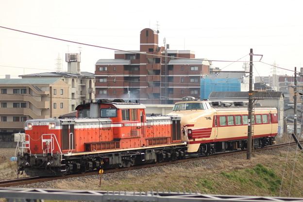 クハ489-1+DD51 配給