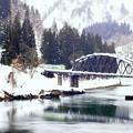 鉄道のある風景:只見川第四橋梁