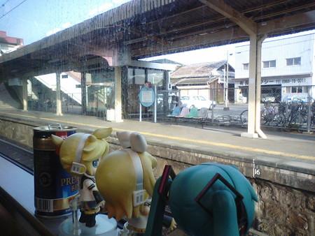 長州駅に停車、6分。