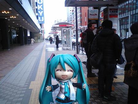 ■札幌駅前 15:08 → サッポロファクトリー 15:14  バス(北海道中央バ...