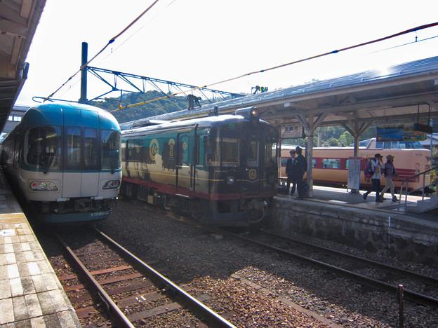 国鉄381系+くろまつ+KTR8000形