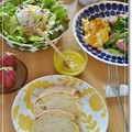 Photos: 柚子ドレッシングで朝食