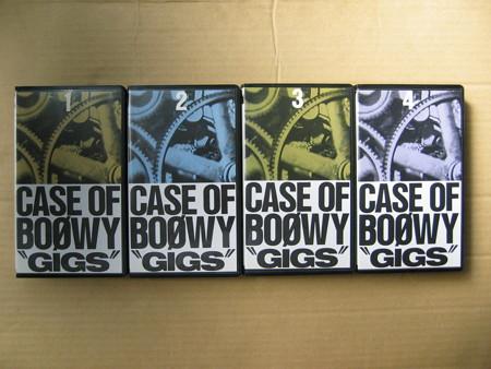 BOOWY GIGS VHS
