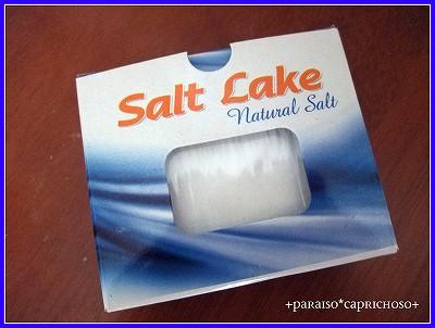 トルコの塩湖のお塩