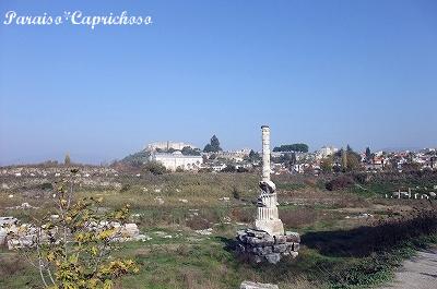 アルテミス神殿全景