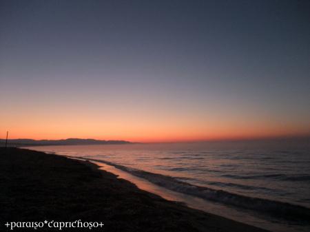 エーゲ海の夜明け