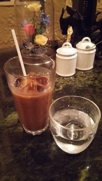 新宿でアネックス寄ってから、本日2回目の休憩(´-ω-`) いつものらんぷでアイスコーヒー(°▽°)
