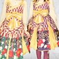 Photos: お友達とメタモの和柄、ハイカラ小町あわせでプリクラヽ(・∀・)ノ →紫の方が自分(°▽°) 時間が足りなくて落書き出来なかった(´・ω・`)