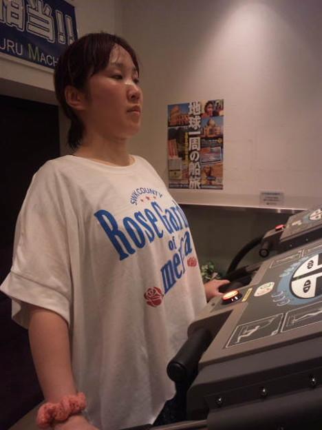 Photos: 田上よしえさん、振動に夢中...