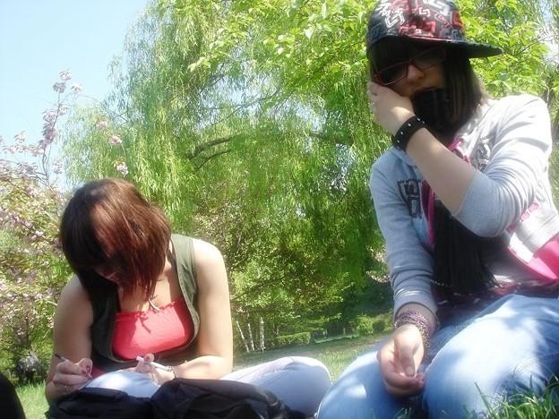 Me and my sister Myo