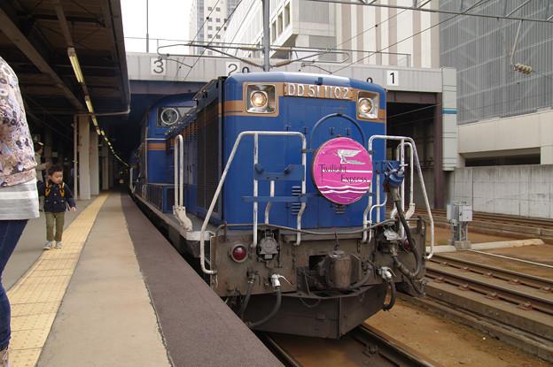 s7432_トワイライトエクスプレス牽引車DD511102_札幌