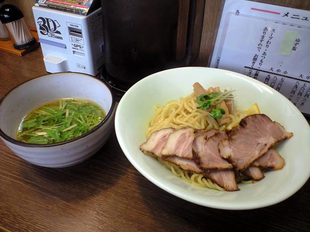 103-1「らー麺 塩や」柚子つけ麺1