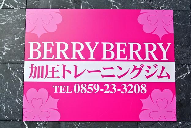 「BERRY BERRY」看板