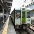 長野駅に停車中の普通列車越後川口行き