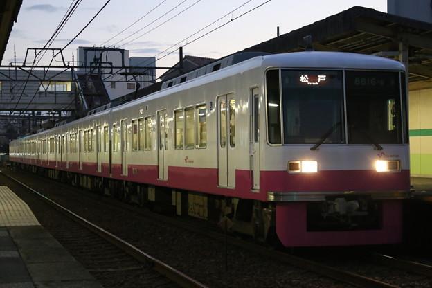 新京成8800形 8816F(新塗装)
