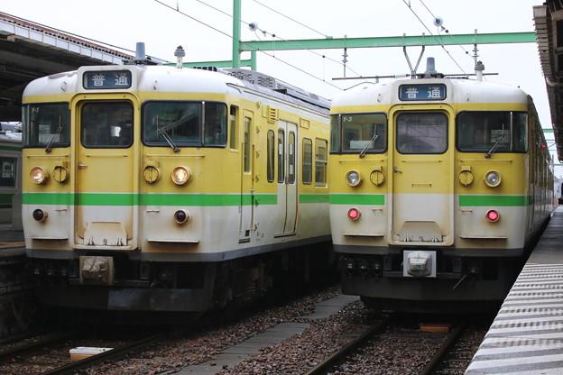 弥彦線115系 Y-1・Y-3編成