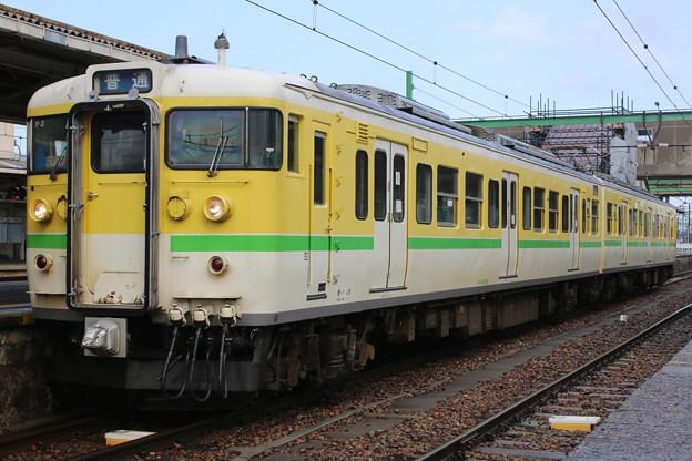 弥彦線115系 Y-3編成