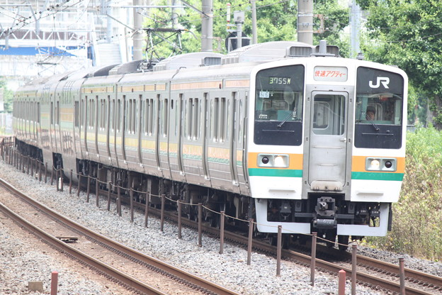 東海道線211系0番台 N5編成 快速アクティー