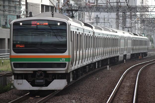 東海道線E231系1000番台 K-19編成 快速アクティー