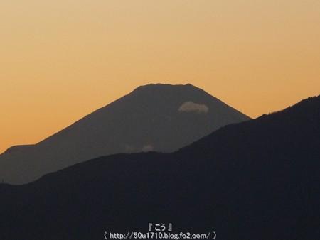 141219-富士山(夕) (2)